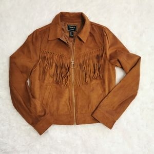 NWOT Forever 21 Faux Suede Jacket